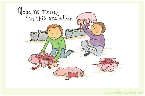 piggy banks,comic