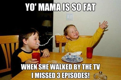 milk,t.v,yo mama,TV