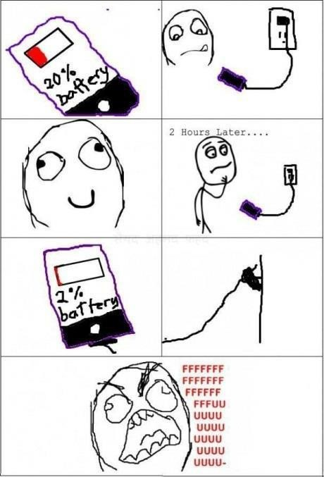 battery charging pet peeves Rage Comics - 6635337472