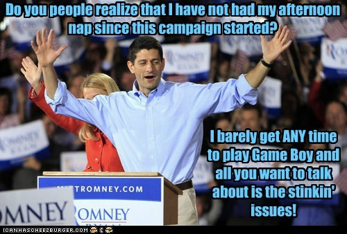 paul ryan,little kid,afternoon nap,campaign,frustrated,game boy,issues,Pokémon