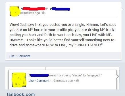 fiancé relationship status single engaged married proposal - 6635522560