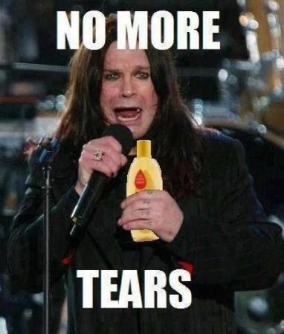 Ozzy Osbourne no more tears baby shampoo - 6635568896