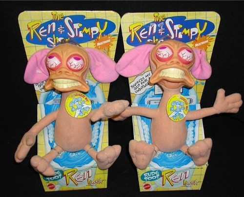 ren and stimpy,toy,farting