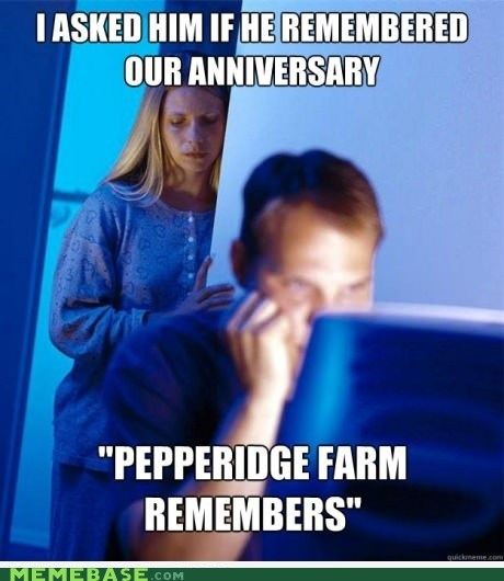 anniversary,Internet Husband,pepperidge farm