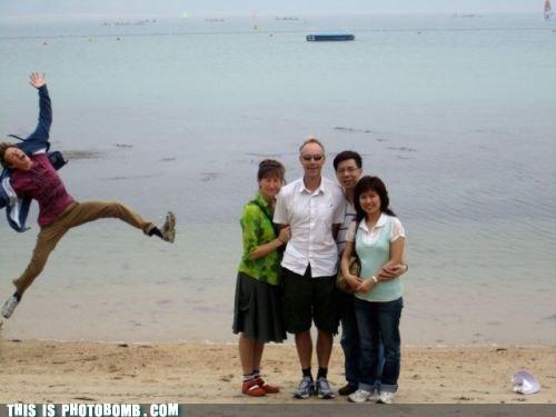 beach,family,jump,lolololol