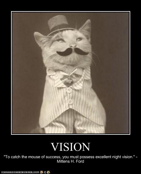 cat mustache dapper hat - 6636028928