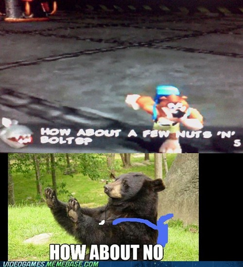 banjo kazooie buts and bolts how about no rare - 6636136448