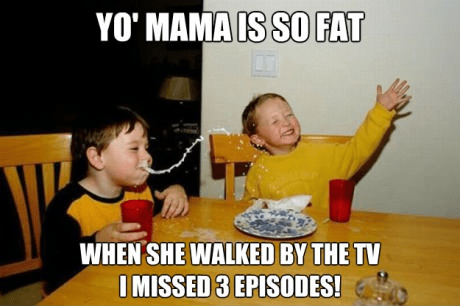 yo mama jokes so fat milk TV - 6636390656