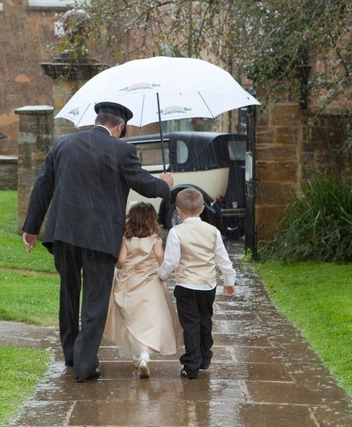children rain vips umbrella chauffeur kids