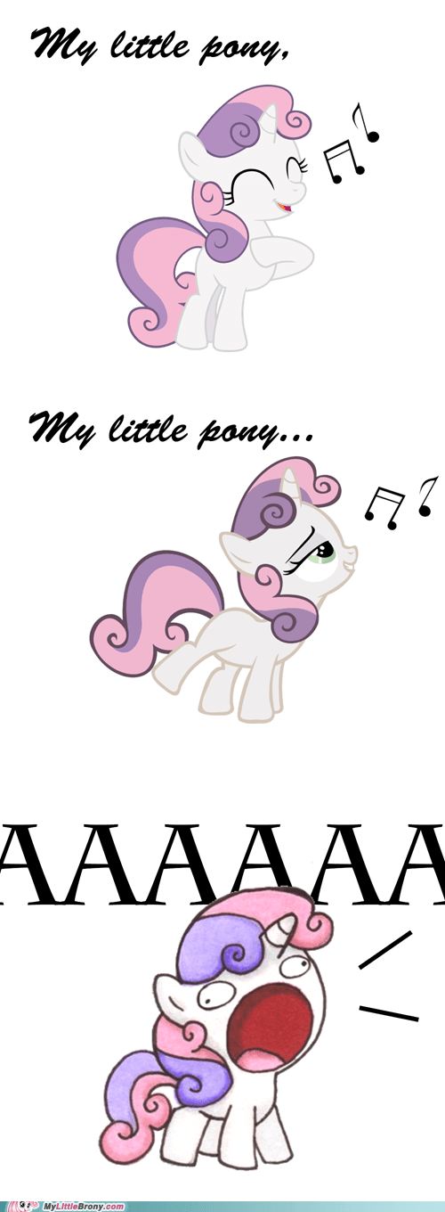 Sweetie Belle my little pony aaaaaaa - 6636425472