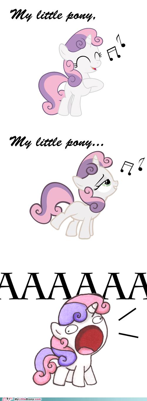 Sweetie Belle my little pony aaaaaaa - 6636425472