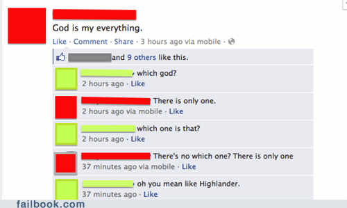 god,god is relative,highlander
