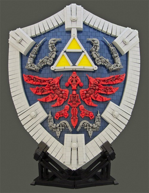 nerdgasm lego legend of zelda nintendo design - 6636562944