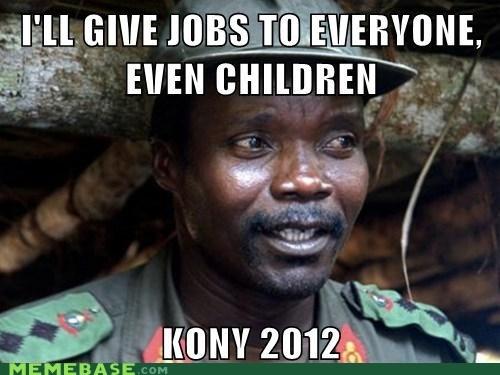 2012 children Debates jobs Kony - 6636922112