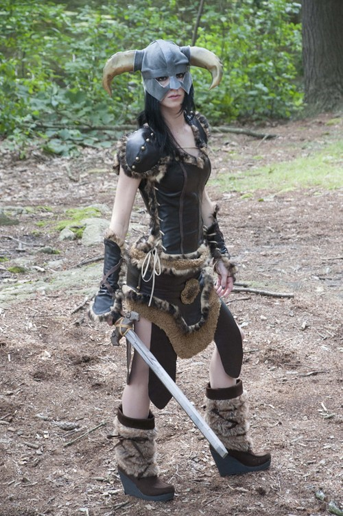 cosplay,dovahkiin,Skyrim,video games