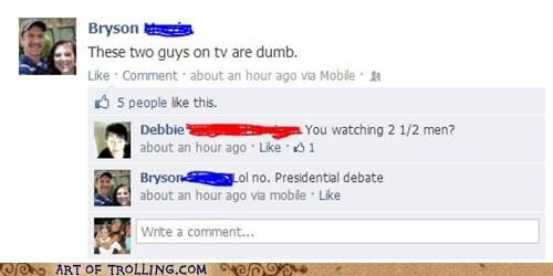 facebook TV presidential debates politics - 6637409280