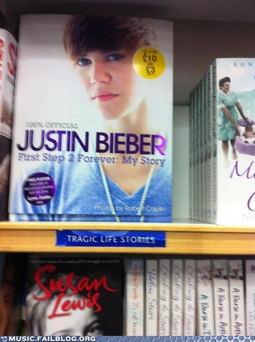 justin bieber,books,tragic life stories
