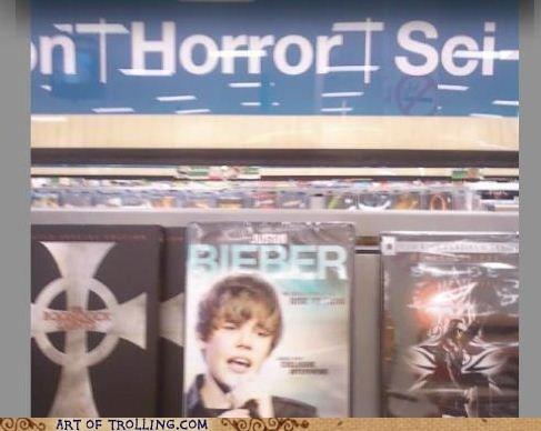 movies,justin bieber,horror