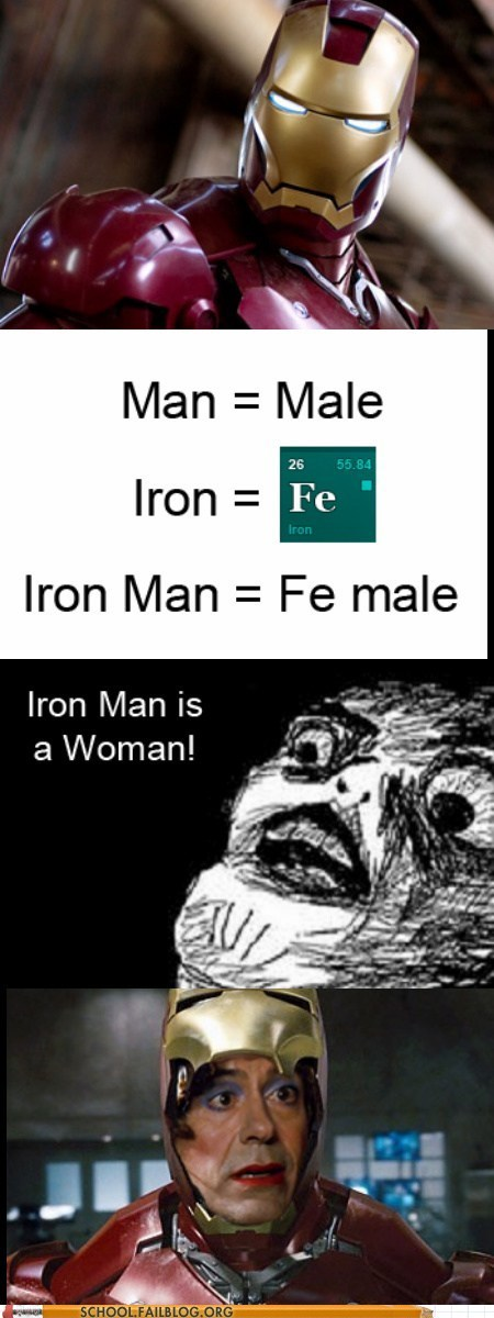 Chemistry female iron man the iron lady tony stark - 6638262784