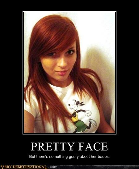 bewbs cute face goofy T.Shirt wtf - 6638425856