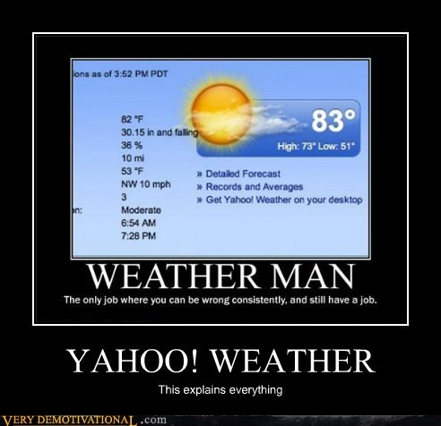 yahoo,weather,wrong