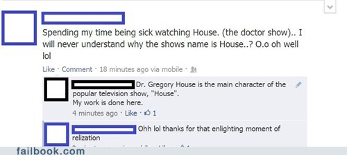 house Gregory House hugh laurie