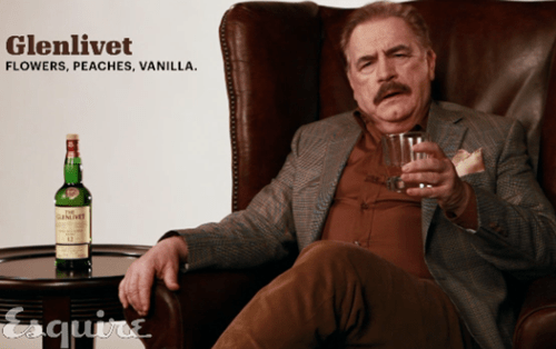 alcohol,Brian cox,esquire,scotch