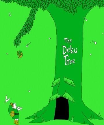 ocarina of time the deku tree the giving tree the legend of zelda - 6639289600