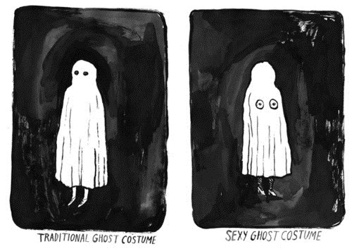 ghosts,halloween costumes,comics