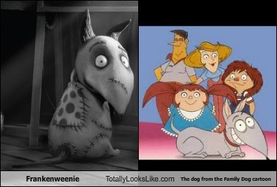 funny TLL Frankenweenie dogs family dog cartoon categoryimage - 6639342080