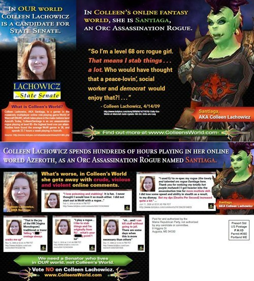 maine gop,state senate,world of warcraft,WoW