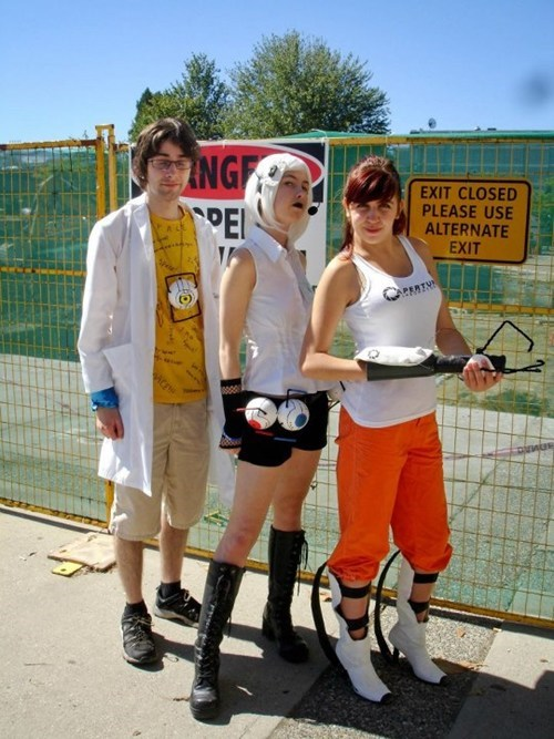 Portal,video games,cosplay,portal 2