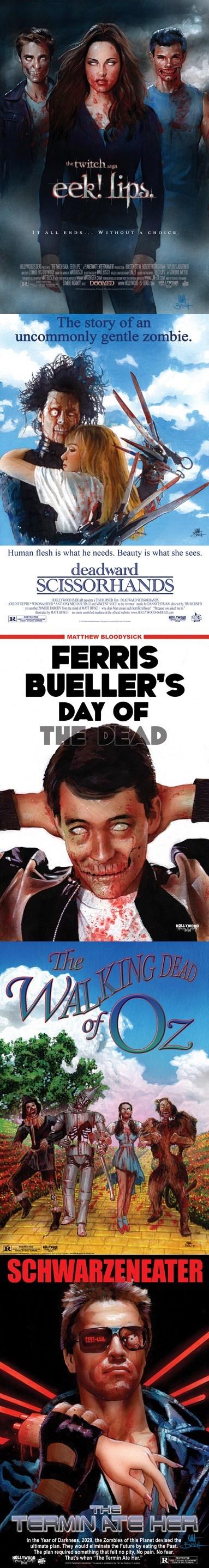 Fan Art twilight The Walking Dead zombie - 6639662848