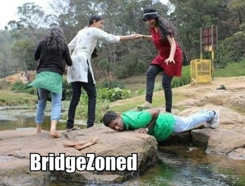 Every Damn Time bridge zoned friend zoned