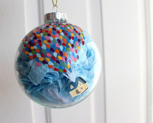 ornament christmas tree up disney pixar house Balloons categoryimage - 6640173824