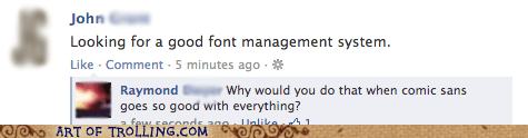 fonts comic sans facebook - 6640202240