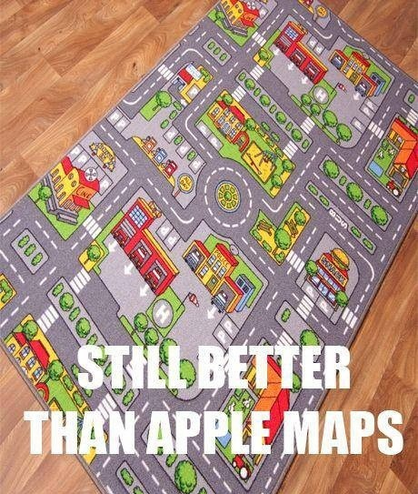 ios6 apple maps kids
