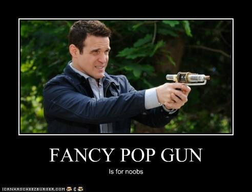 FANCY POP GUN Is for noobs