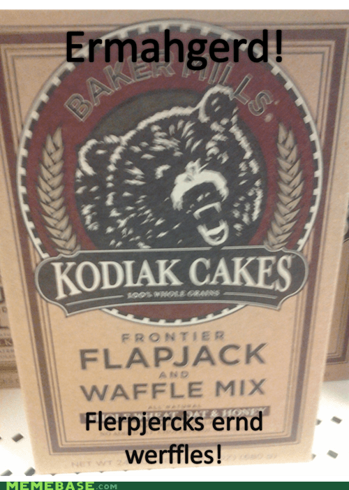 flapjacks waffles Ermahgerd food - 6640999168