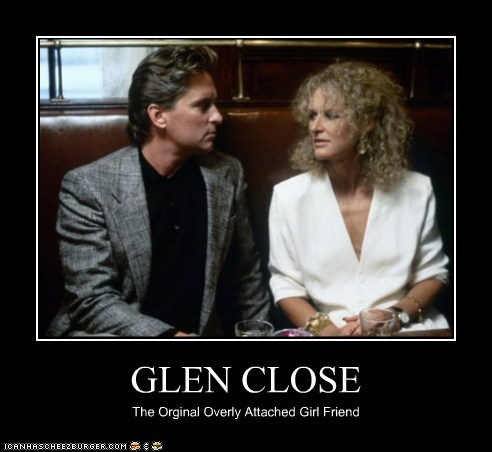 funny actor celeb Glenn Close Michael Douglas demotivational - 6641142272