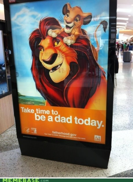 IRL,the lion king,parenting
