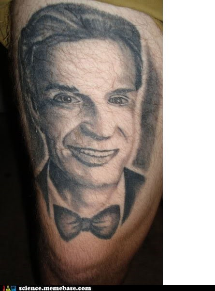 bill nye thigh tattoo - 6641729024