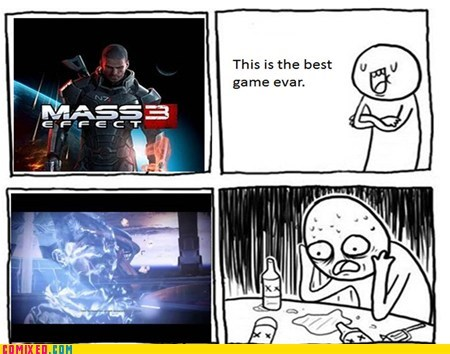 mass effect 3 video games Overconfident Alcoholic - 6641929984