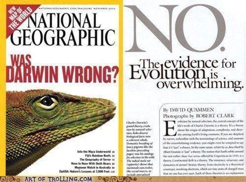 NatGeo evolution Darwin