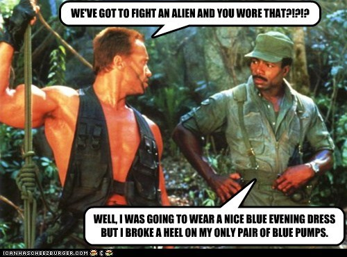 funny actor celeb Arnold Schwarzenegger Carl Weathers - 6642347776