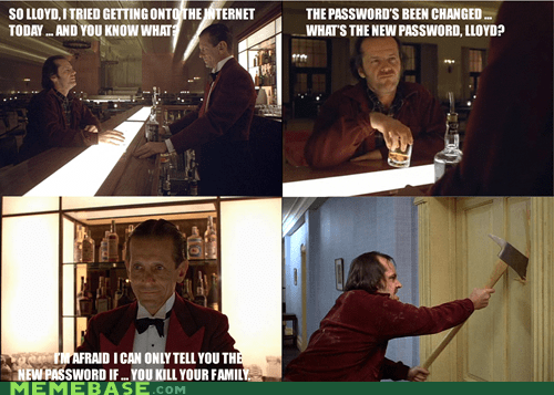The Shining ... if written for Gen Y.