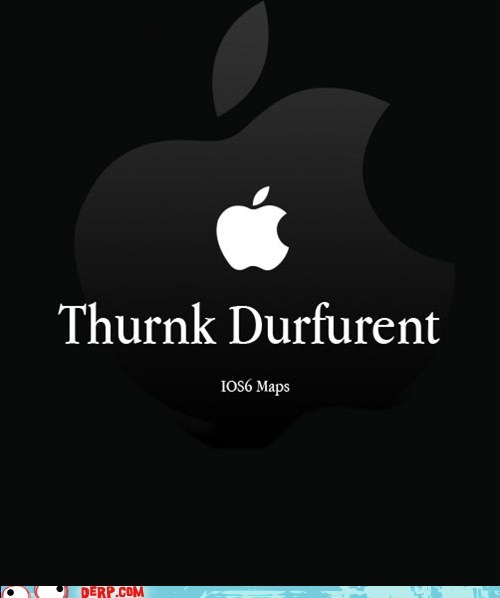 apple,think different,apple maps,iOS6 maps