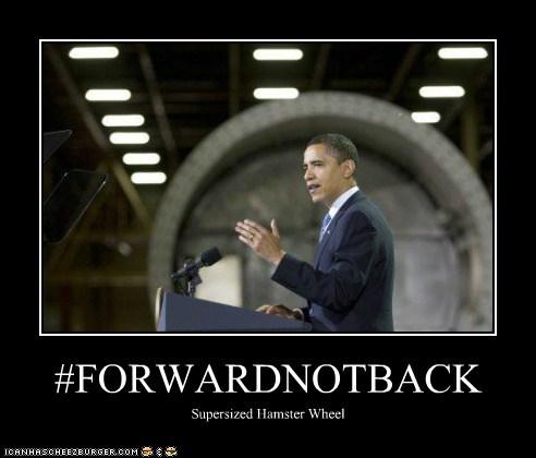 #FORWARDNOTBACK Supersized Hamster Wheel