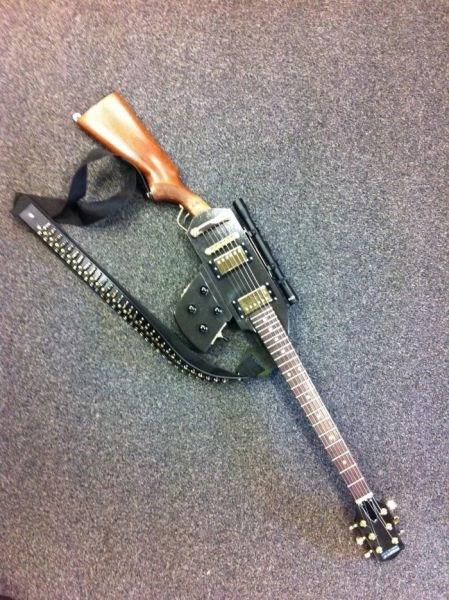 gun rifle guitar - 6642726400
