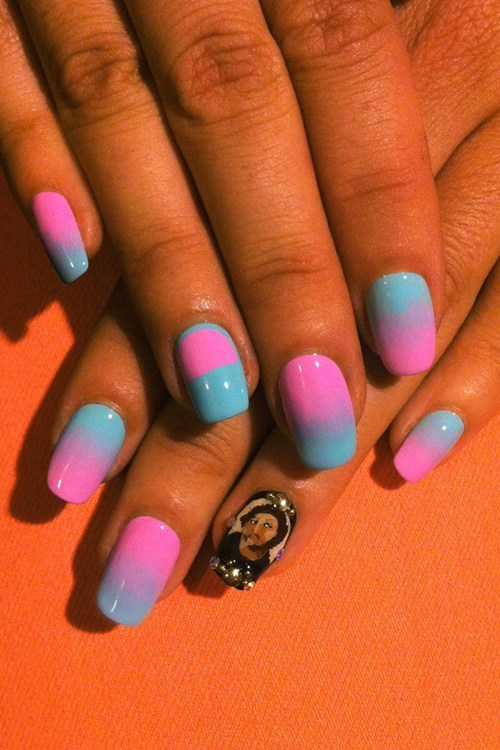 potato jesus nail art style fashion categoryvoting-page - 6642990848